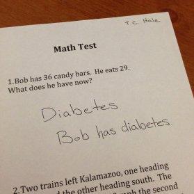 Bob has Diabetes 2