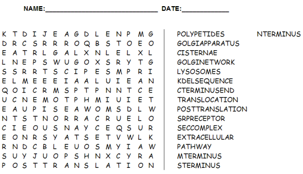 Word search for Cell dev